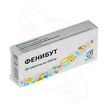 ¤енибут 250 мг инструкция по применению