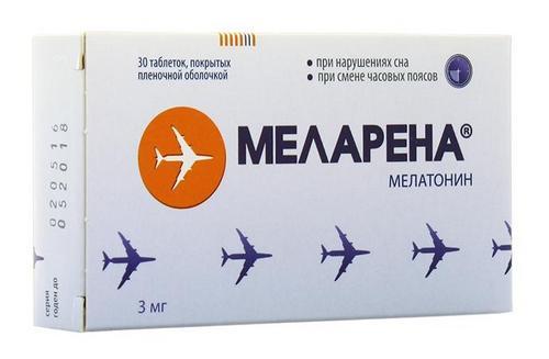 Меларена в таблетках
