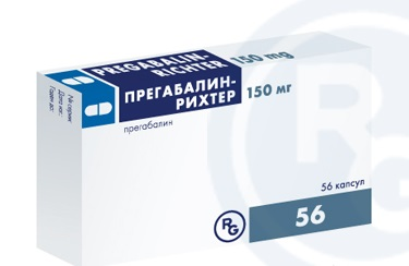 Прегабалин-Рихтер в капсулах